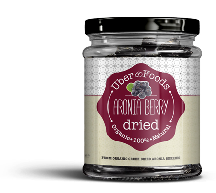 Uber Foods - Certified Organic Dried Aronia Berries