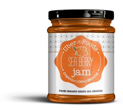 Uber Foods - Certified Organic Sea Berries Jam